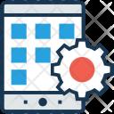 Mobile Development Menu Icon