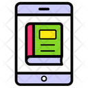 Mobile Dictionary Ebook Online Library Icon