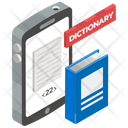 Mobile Dictionary Online Wordbook Vocabulary Icon