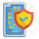 Mobile Digital Security Icon