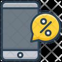 Mobile Discount Icon