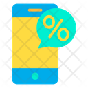 Mobile Discount Icon