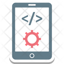 Mobile App Development Mobile Div Mobile With Cog Icon