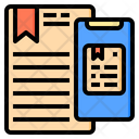 Mobile Document Email Icon