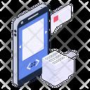 Online Content Mobile Content Educational App Icon
