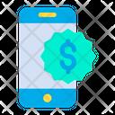 Dollar Mobile Money Icon