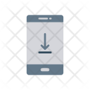 Mobile Download Phone Icon