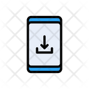 Mobile Phone Download Icon