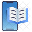 Mobile E Book Icon