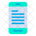 Document E Learning Mobile Icon