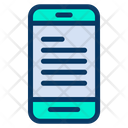 Mobile E Learning Icon