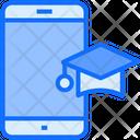 Mobile Education Mobile Study Mobile Icon