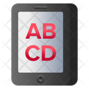 Online Education Mobile Education Elearning Icon