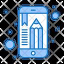 Mobile Education Icon