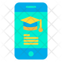 Mobile Education Icon