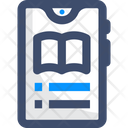 Mobile Elearning Icon