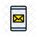 Mobile Email Phone Icon
