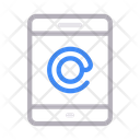 Mobile Phone Email Icon