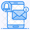 Mobile Email Electronic Mail Mobile Inbox Icon