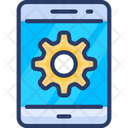 Mobile Engineering Repair System Icon