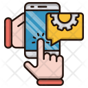 Mobile Engineering Automation Icon