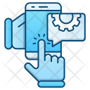 Mobile Engineering Device Icon