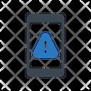 Mobile Error Warning Icon