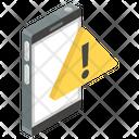 Mobile Error Communication Error Mobile Alert Icon