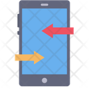 Mobile Exchange Exchange Data Mobile Icon