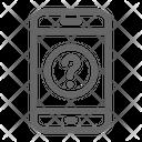 Mobile faq Icon