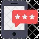 Mobile Feedback Chat Feedback Message Feedback Icon