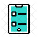 Mobile Feedback Survey Mobile Icon