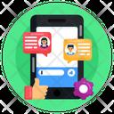 User Experience Client Feedback Testimonials Icon