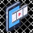 Mobile Movie Mobile Film Online Film Icon