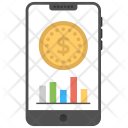 Mobile Phone Finance Icon