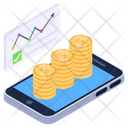 Online Business Business Application Data Analytics Icon