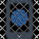 Fingerprint Mobile App Icon
