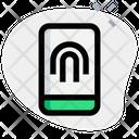 Mobile Fingerprint Icon