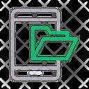 Mobile Folder Phone Icon