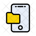 Mobile Folder Directory Icon