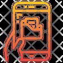 Folder Files Management Smartphone Icon