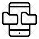 Mobile Folder Icon