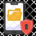 Mobile Data Data Safety Mobile Folder Icon