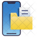 Mobile Folder File Icon