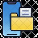 Mobile Folder File Document Business Icon