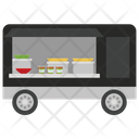 Mobile Food Food Cart Food Delivery Icon