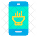Mobile Food Online Food Icon