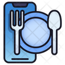 Mobile Food Application Service Application Icon