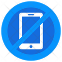 Mobile Forbidden Smartphone Ban Mobile Restricted Icon