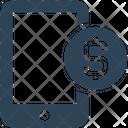 Smartphone Money Funds Icon